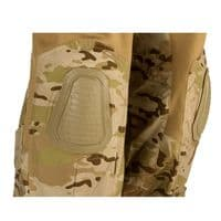 Alpha Army Style Combat Tactical Trousers with Knee Pads Desert Camo